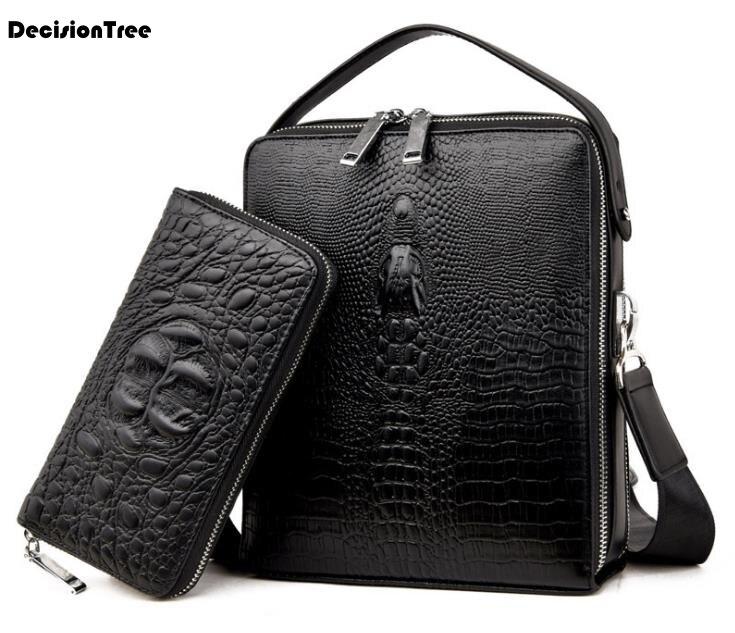 Fashion Genuine Leather Briefcase For Business Men Laptop Handbag Large Capacity Travel Bag Solid Famous Brand Shoulder BagFashion Genuine Leather Briefcase For Business Men Laptop Handbag Large Capacity Travel Bag Solid Famous Brand Shoulder Bag