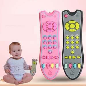 Baby Toys Remote Control Early Educational-Toys Mobile Phone Electric Numbers Music Remote Learning-Machine