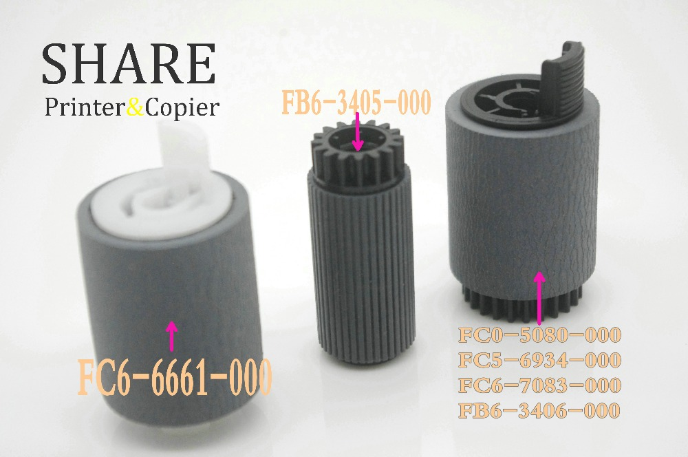 10set Pickup roller kit FOR CANON IR1730 IR 2535 4570 IR2230 IR2270 IR2870 IR3025 IR3570 FC5-6934-000 FB6-3405-000 FC6-6661-000 compatible new fb1 8581 000 pickup roller tire for canon ir 4570 3570 2870 2270 4530 3530 2830 2230 copier parts wholesale
