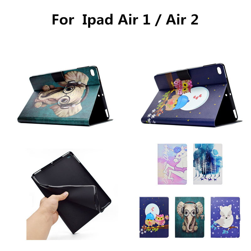 где купить Luxury Soft TPU Back PU Leather For New iPad 9.7
