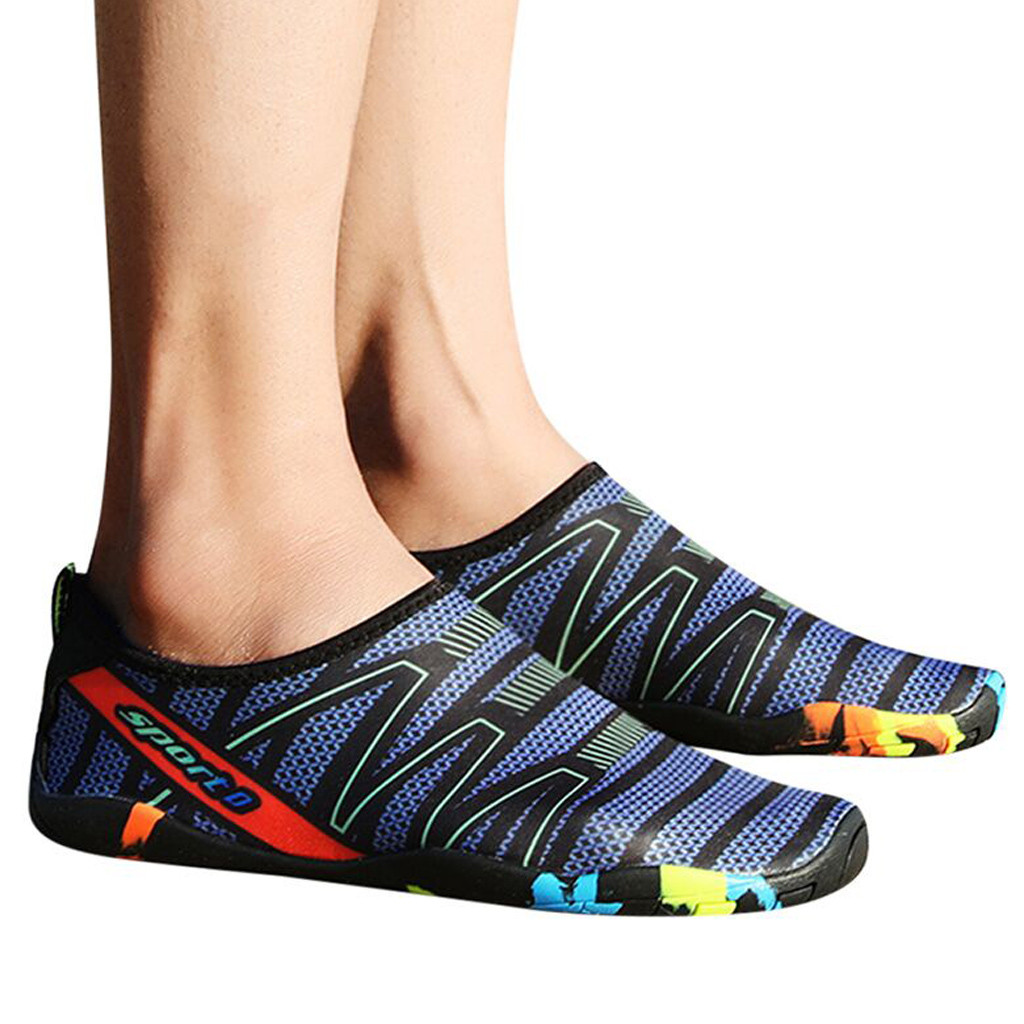 efb5ea8608a43 Perimedes Water Shoe Summer Couple Wading Sports Anti Skid Beach Swimming  Surfing Neopr Shoes Casual Flat