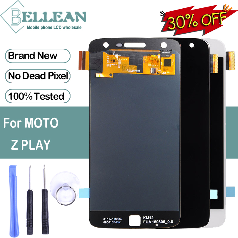 Dinamico Promotion For Motorola <font><b>XT1635</b></font> <font><b>LCD</b></font> For <font><b>Moto</b></font> <font><b>Z</b></font> <font><b>Play</b></font> <font><b>LCD</b></font> With Touch Screen Digitizer Assembly Free Shipping With Tools image