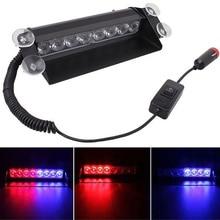 Красные, синие светодио дный светодиодных автомобилей Strobe Light Flash аварийного полиции Предупреждение Детская безопасность лампы XR657