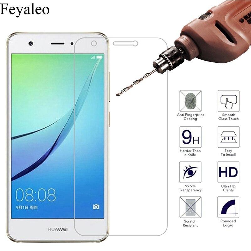 9H 5 verre trempé pour Huawei Nova protecteur d'écran pour Huawei Nova CAN-L01 L11 L02 L12 L03 L13 CAZ-AL10 Film de protection