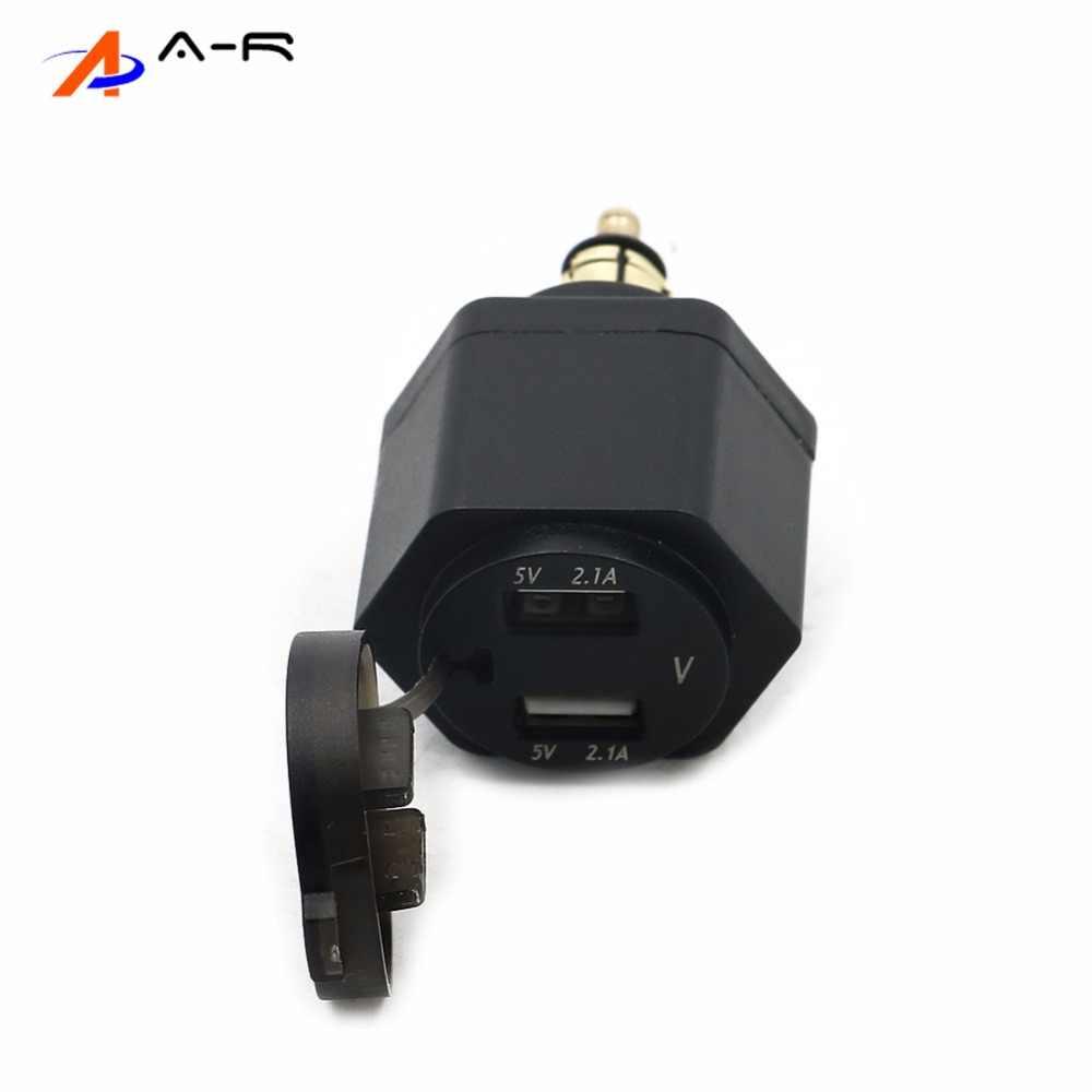 USB منفذ مهايئ شاحن شاشة ديجيتال المكونات ل BMW F800GS F650GS F700GS R1200GS R1200RT F650 F700 F800 GS | R 1200 GS /RT ADV