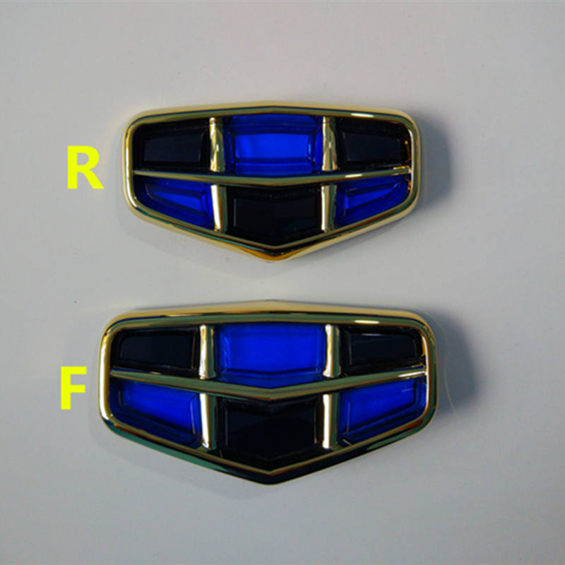 Geely Emgrand 7 EC7 EC715 EC718 Emgrand7 E7,RS,car front logo,car emblem ,blue with black,original car parts geely emgrand 7 ec7 ec715 ec718 emgrand7 e7 car right left taillights rear lights brake light original