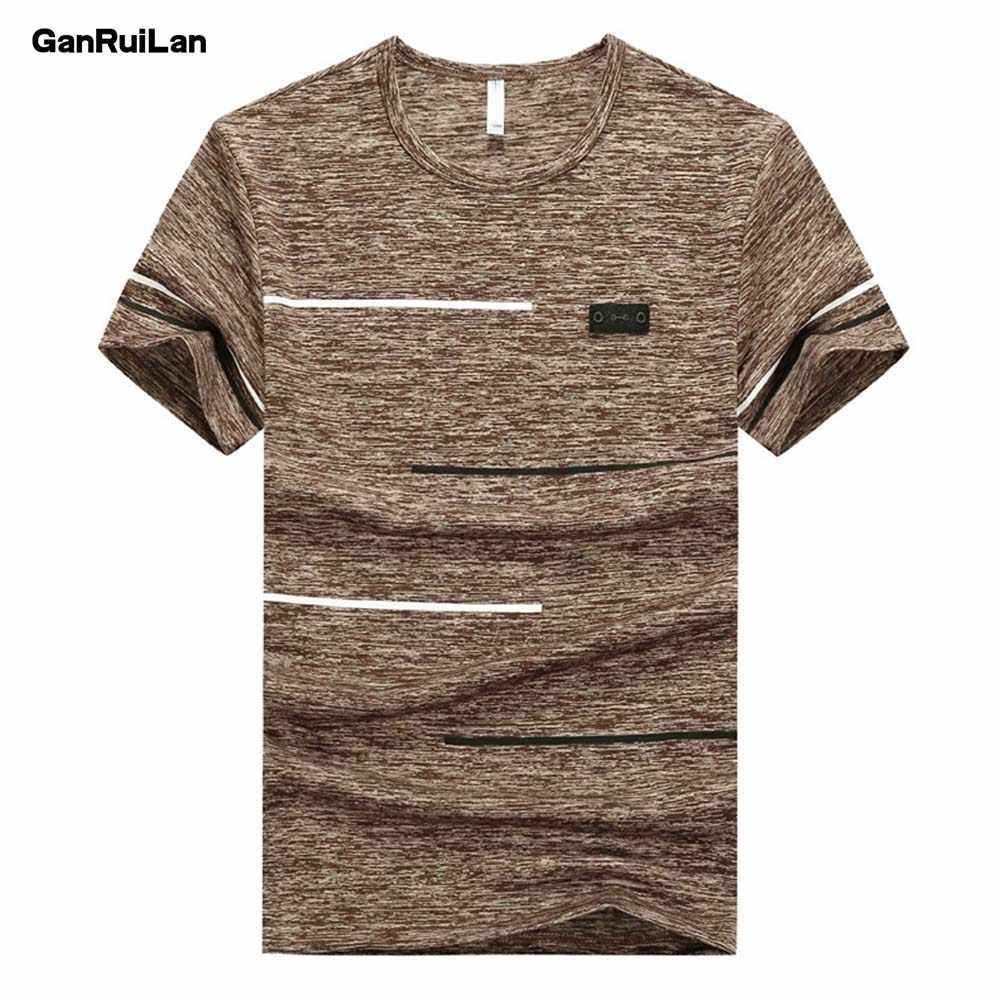 Men's t-shirt Tees 2019 Summer New cotton O neck Short Sleeve Tops Tees Men Fashion Trends Fitness tshirt Free Shipping B0335