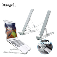 Folding Portable Laptop Stand Heights Adjustable Desktop Heighten Computer Stand Notebook Cooling Holder For MacBook 11 17 inch