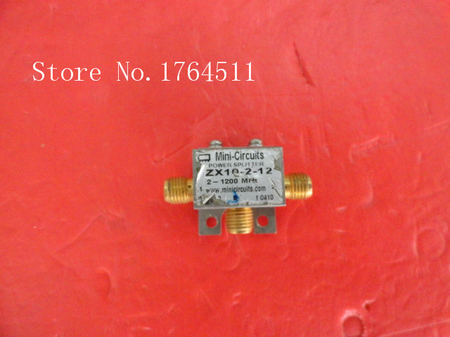 [BELLA] Mini 2X10-2-12 2-1200MHz A Two Supply Power Divider SMA