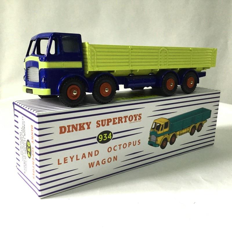 Динки supertoys 934 Динки игрушки 1:43 Atlas Камион leyland Осьминог грузовик сплава литья под давлением модели автомобиля и игрушки модель