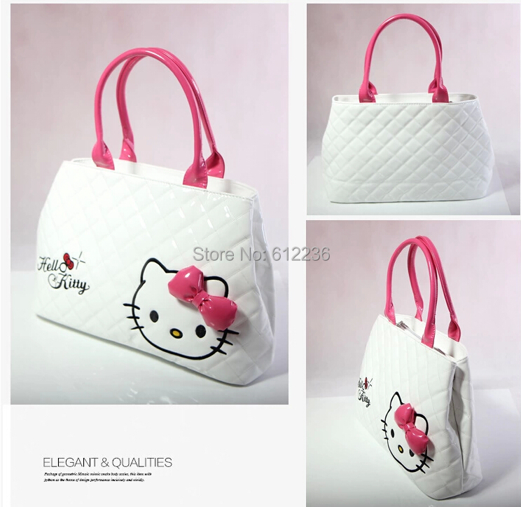 Online Shop 2014 New shoulder bag Hello Kitty Handbags Fashion ...