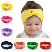 5pcs/lot Novelty 12C Stretch Twist Turban Headband Head Wrap Bandana Headwear High Elastic For Adult and Child FDA119(China)