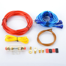 Power line car modified stereo wire subwoofer line Car amplifier sets of line