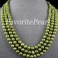 Colar de pérolas - 64-Inch 7.5 - 8.5 mm AA Natural de água doce colar longo moda festa de jóias frete grátis