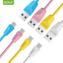 GOLF Original Type-C USB Data Sync Charging Cable for Xiaomi 5 6 8 Oneplus Honor 9 10 Samsung S8 S9 Android Phone Charger Wire