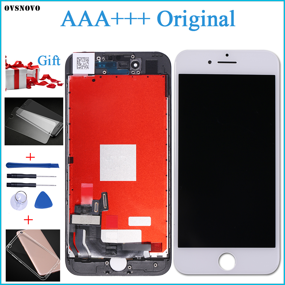 2018 100% AAA +++ <font><b>Original</b></font> LCD Screen Für <font><b>iPhone</b></font> 7 Plus Bildschirm LCD <font><b>Display</b></font> Digitizer Touch Modul 7 Bildschirme Ersatz LCDS image