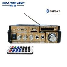 Frankever Hi Fi, Bluetooth Цифровой Аудио Автомобильный Усилитель Двухканальный Домой Усилитель Новый Стиль 220В-240В Бесплатная доставка