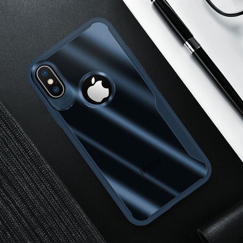 KIPX1089_10_JONSNOW Transparent Phone Case for iPhone 7 8 Plus 6S 6 Plus Soft Glue All-inclusive Protect Cover for iPhone X XR XS Max