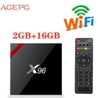 X96 W Android 7.1 Smart TV BOX Amlogic S905W 2GB DDR3 16GB EMMC Quad Core 2.4GHz WIFI HDMI 2.0 4K*2K HD Media Player Set Top Box