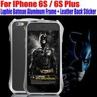 Aluminum Case For IPhone 6S Plus 5 5 6S 4 7 Inch Luxury Original Luphie Batman