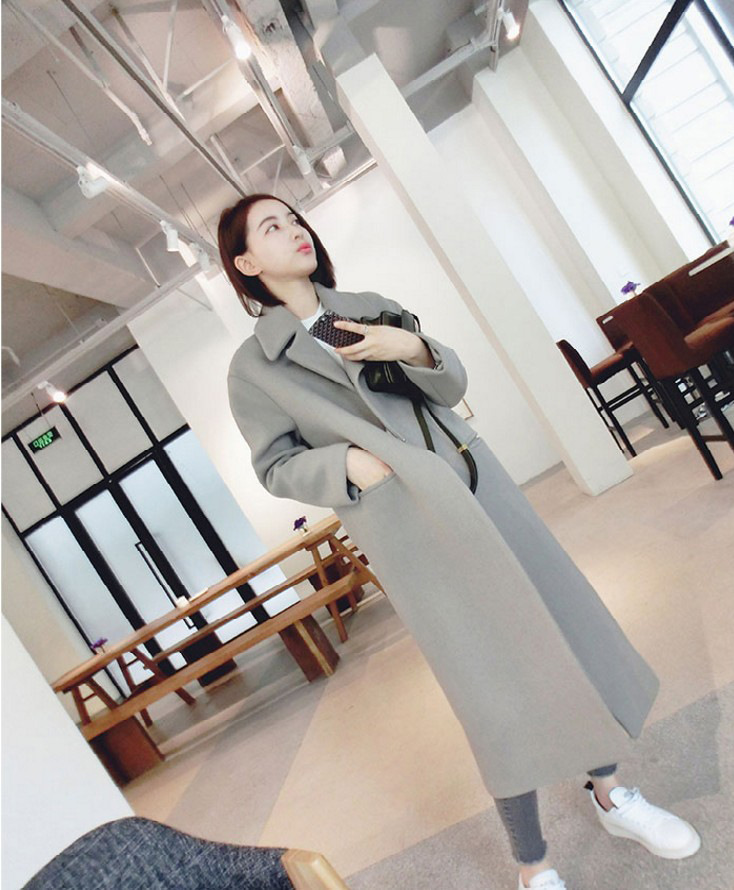 long thick jacket