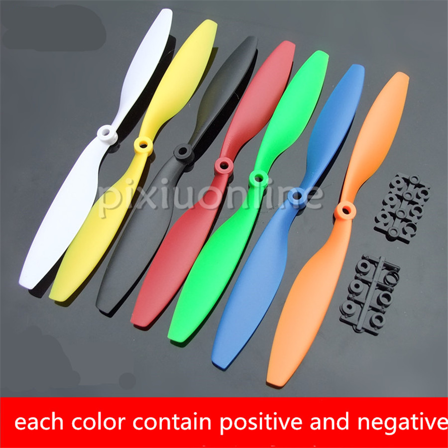 1pair/pack K966b 7colors Choose 1045 Model Propeller L/R Positive And Negative Propeller Power Tool Parts Free Shipping Russia