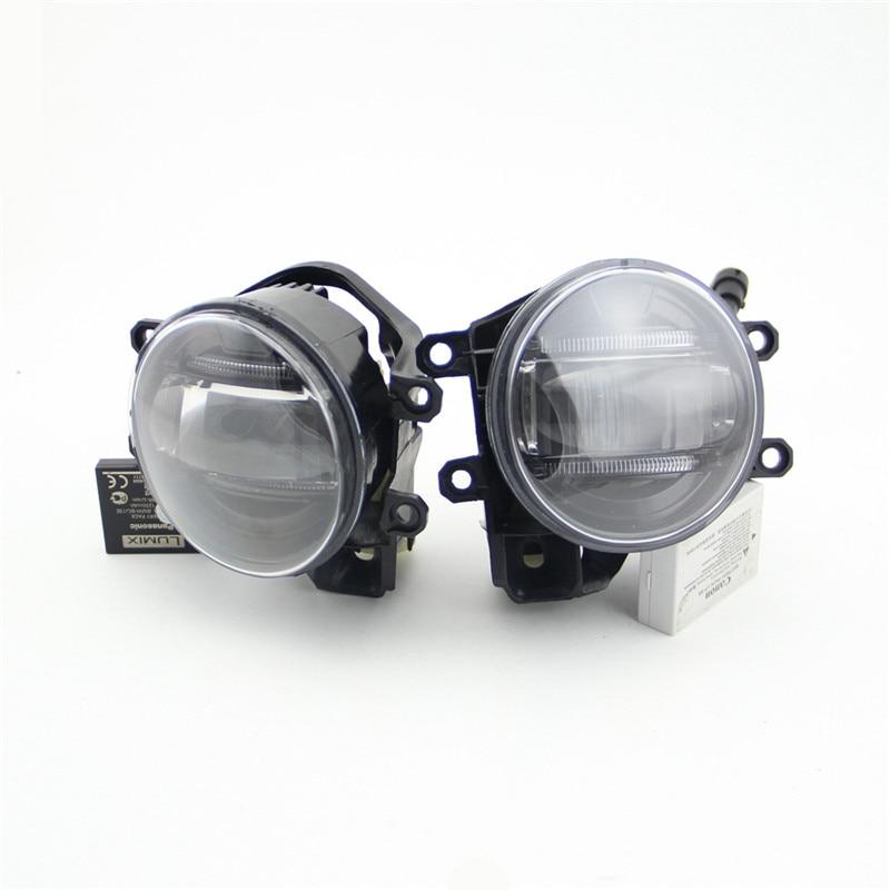 ФОТО Hot sale! Led Fog Lamp Daytime Running Lights for  Camry 2006~2015  Highlander 2009~2015 Innova 2012~2015