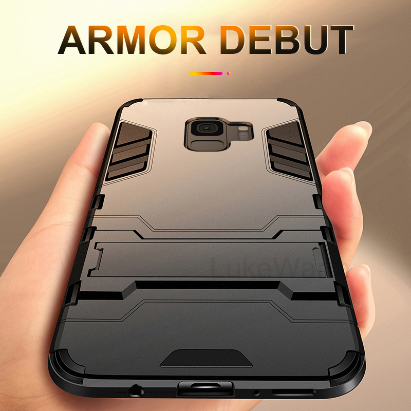 Armor Stand Cases For LG Q6 G6 G7 Thinq K8 Q8 2018 K9 Case For LG V30S Thinq Q Stylo 5 4 G6 Mini V20 V30 Plus Cover Coque Funda