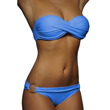 Wholesale Newest Summer Sexy Bikini Women Swimwear Occidental Secret Beach Swimsuit Push Up Bathing Suits 12 Colors S To XL