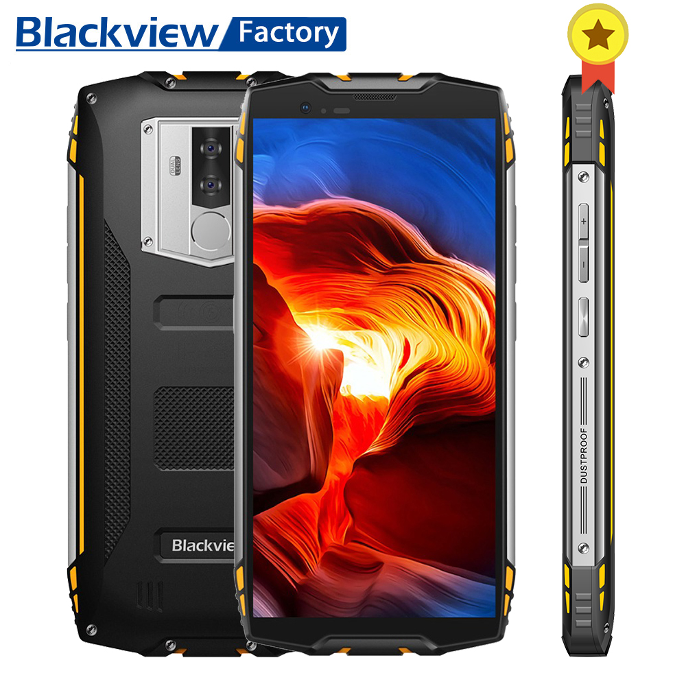 Blackview BV6800 Pro Android 8 0 NFC IP68 IP69K Smartphone Face ID 4GB 64GB 16 0MP