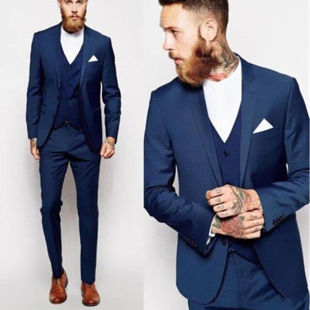 8ee121b9e96f8 Nuevos trajes de hombre hechos a medida padrino mejor hombre traje de boda  hombres novio esmoquin