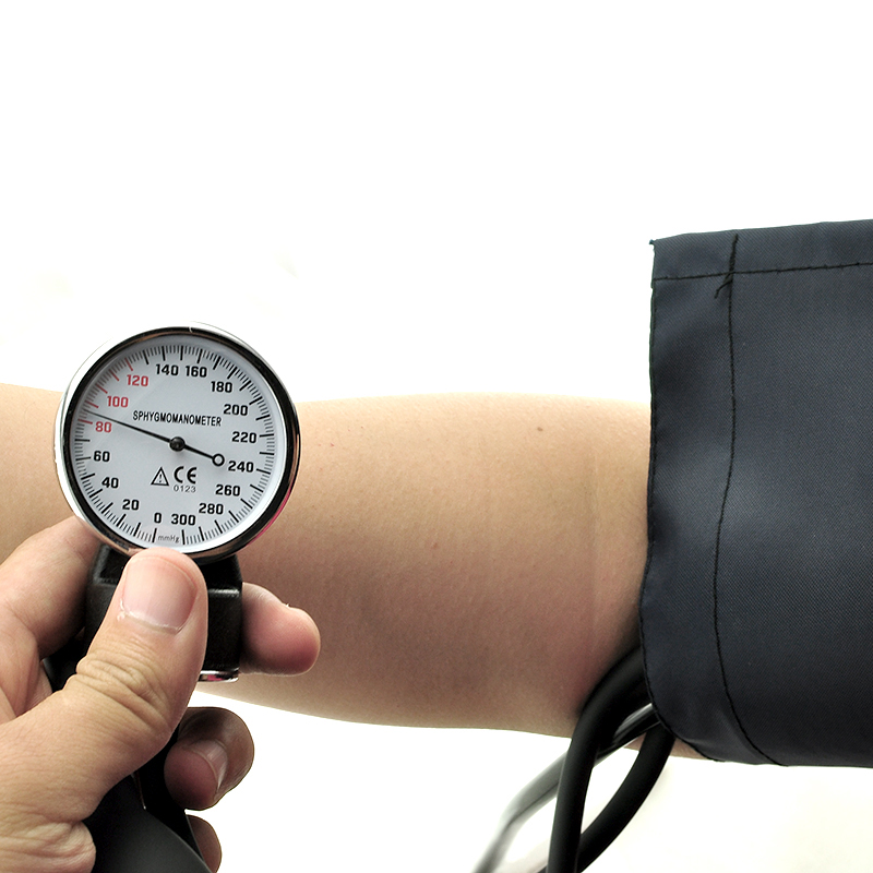 New Preciseness Blood Pressure Cuff Monitor and Stethoscope Set Home care Medical Tool Health Care pro single head medical stethoscope emt doctor nurse vet student health blood stethoscope free shipping
