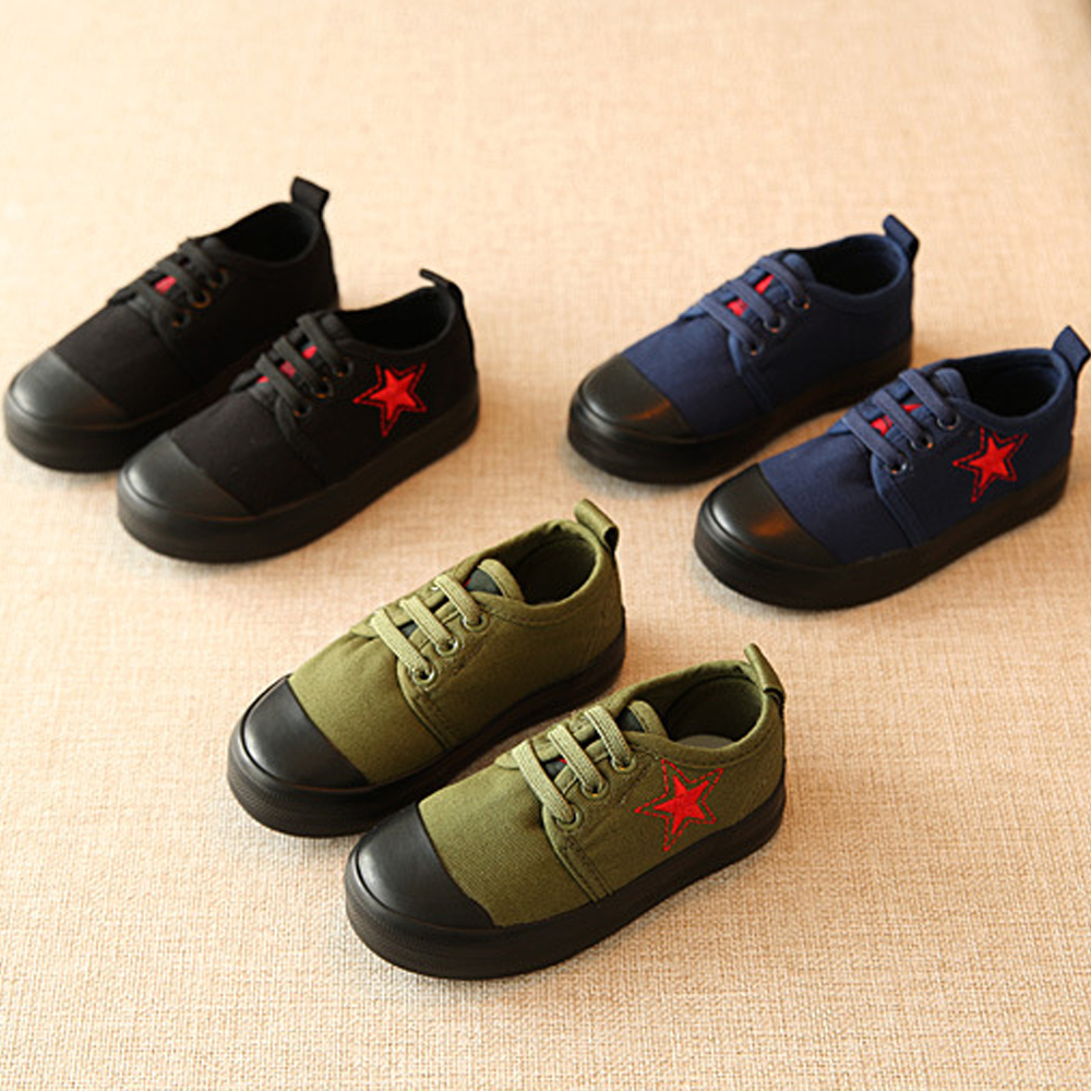 Hot Children Toddler Little Kid Big Kid Shoes Boys Shoes Girls Canvas Shoes