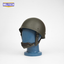 Militech Oliver Drab OD Green French F1 Model 1988 Version Steel Paratrooper High Quality Repro Collection Helmet(China)