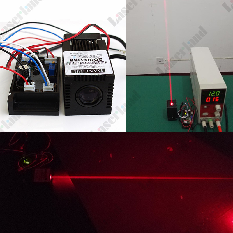 635nm-638nm Orange/Red 400mW Laser Dot Diode Module w/ TTL 12VDC Stage Lighting 1mw 650nm red laser diode module dot size 4x13 7mm