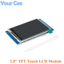 2.8 Inch TFT Touch LCD Screen Display Module Resolve 240*320 Drive ILI9341 2.8