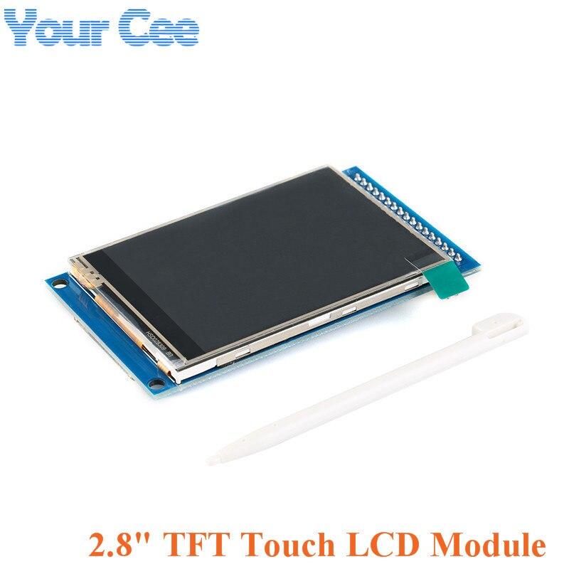 """Module d'affichage à écran tactile LCD TFT 2.8 pouces résolution 240*320 lecteur ILI9341 2.8 """"kit de bricolage"""