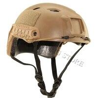 3 Màu Cơ Sở Nhanh Jump Simple Đội Mũ Bảo Hiểm phụ kiện Chiến Thuật army Combat Đầu Thiết Bị airsoft trò chơi chiến tranh paintball đội mũ bảo hiểm