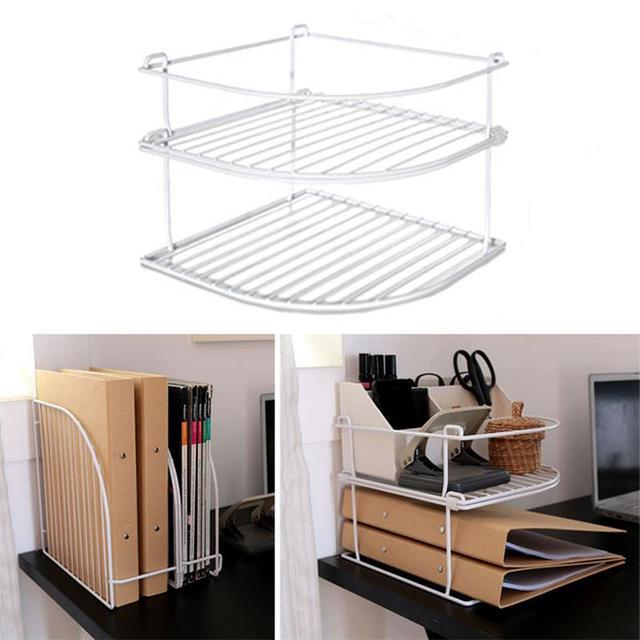 Creatwo Stack Storage Racks DIY Stackable Office Desk Organizer 2 ...
