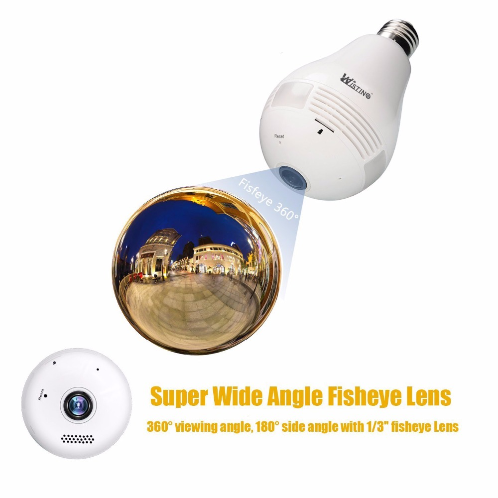 Wistino-360-Degree-Fisheye-Panoramic-Network-Wireless-Camera-LED-Bulb-Home-Security-System