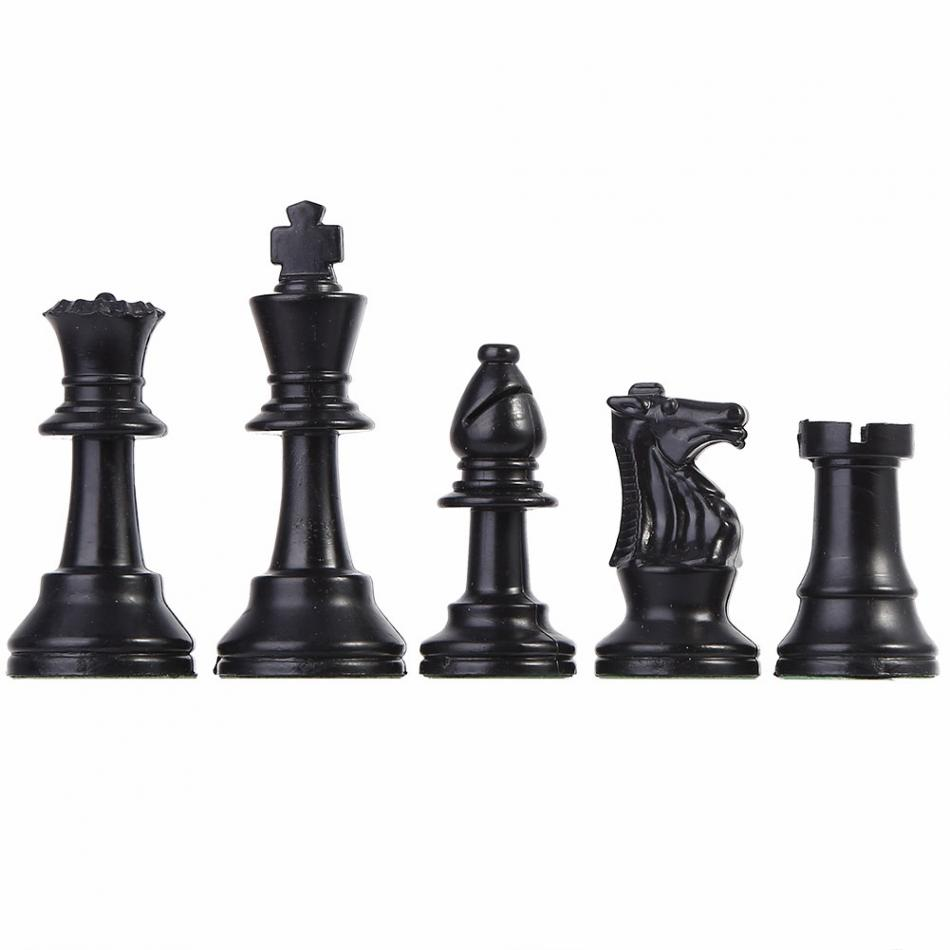 32 шт./компл. Пластик шахматы развлечения Настольная игра шахматы Замена складной международной шахматы для Детская вечеринка