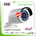 Hikvision câmera ip versão inglês ds-2cd2042wd-i 4mp câmera da bala de segurança com poe câmera de rede sistema de vigilância por vídeo