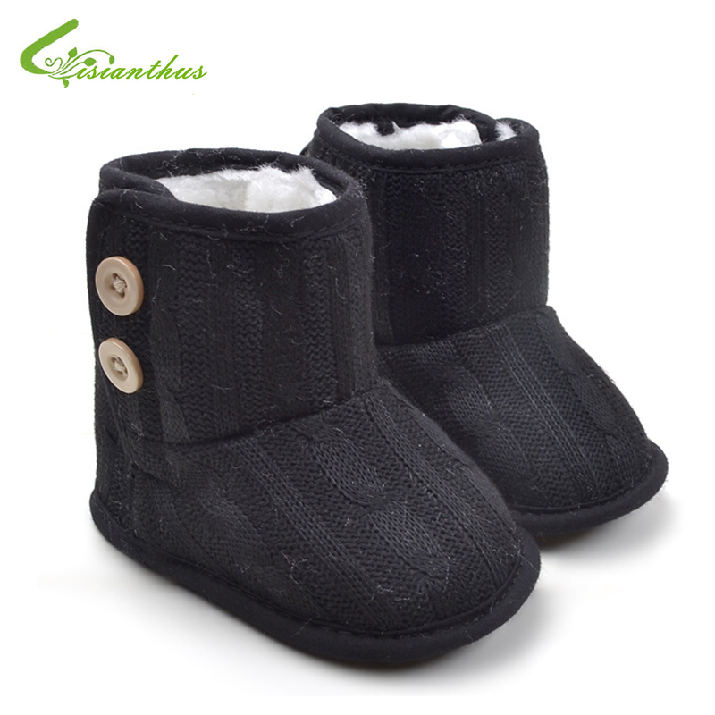 Baby Girl Boy Fashion Snow Boots Toddler Winter Soft ...