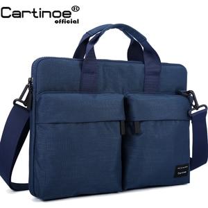Image 1 - Cartinoe yeni laptop çantası 11, 13.3, 14, 15.4, 15.6 inç Macbook Air 13 için kılıf su geçirmez naylon dizüstü bilgisayar çantası 13.3/15.6 inç