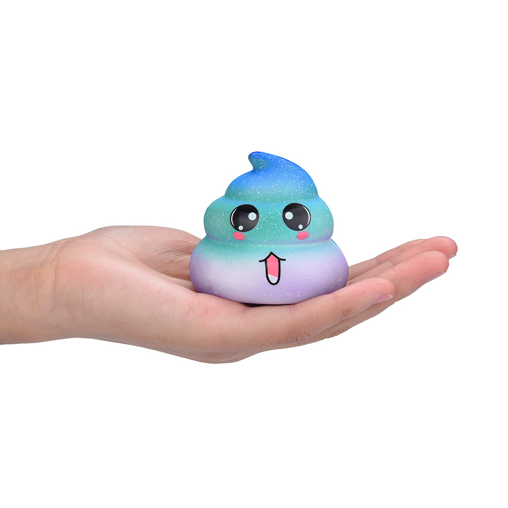 Muqgew 2019 New Arrival Squishy Cute Cartoon Car Decor Slow Rising Kid Squeeze Relieve Anxiet Gift Toys Poopsie Slime Surprise Welding Helmets
