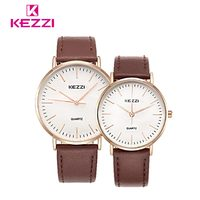 2017 KEZZI Couple Watch Wristwatch Advanced Belt Trendy Ladie Temperament Wilds Watches Quartz Watches Wholesale