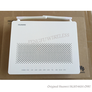 Hot! 100% Original New for Huawei HG8546M Gpon WiFi Ont onu 1GE+3FE+VOICE+WIFI English Firmwarel modem Telecom Network Equipment(China)