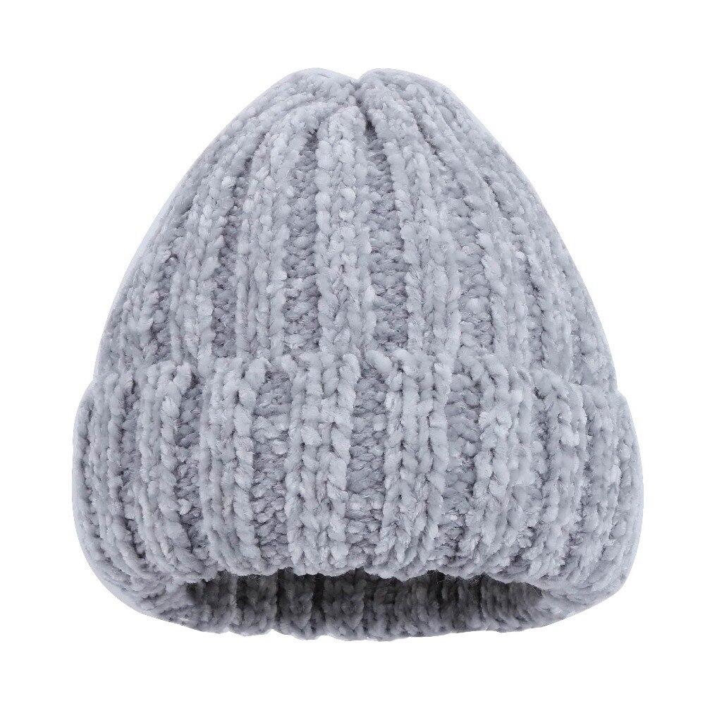 Mulheres marca inverno beanie chapéu feito malha cap menina moda de luxo  strass contas claras warmer casual gorros skullies chapéus térmicas 999a7a553655c