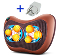 6 home and car back waist neck cervical vertebra massager pillow body household multifunctional massage cushion