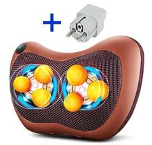 6 home and car back waist neck cervical vertebra massager pillow body household multifunctional massage cushion